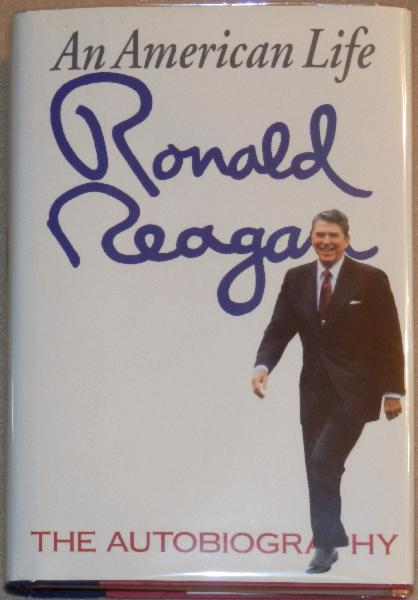 Ronald Reagan Signed First Edition <i>An American Life</i> signed on Bookplate