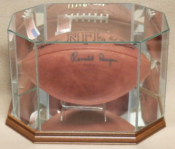 Ronald Reagan Very Rare Signed Football