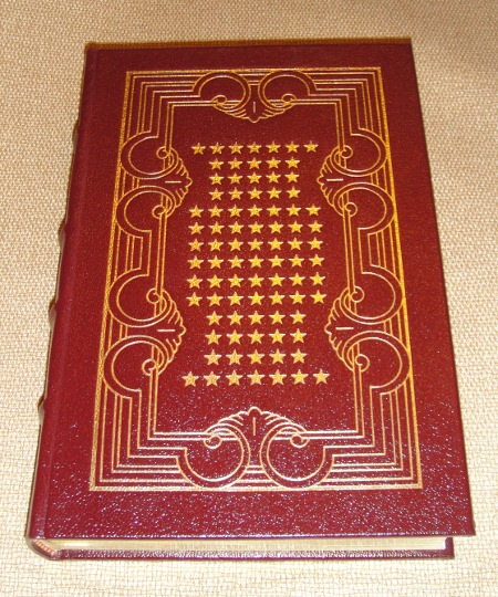 Ronald Reagan signed <i>Speaking My Mind</i> burgundy leather